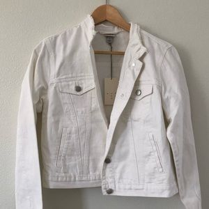 A New Day White Denim Jacket